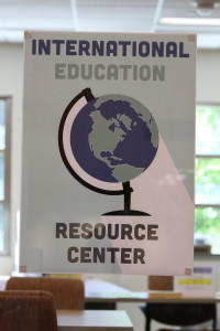 The new Office of International Education is located in room 203 in the DUC. Photo by Kylie Bridenhagen.