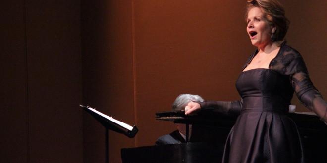 Renee Fleming Inspires at UWSP Master Class
