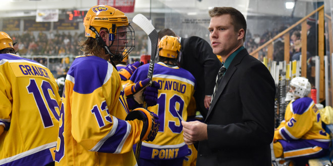 Pointer Alumnus Promoted to Hockey Associate Head Coach