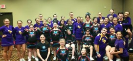 UWSP Cheer and Stunt Team Gives Helping Hand