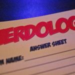 Nerdology Answer Sheet | Photo Courtesy of Dalen Dahl