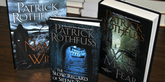 Uwsp To Page To Screen Patrick Rothfuss Novel Advancements The