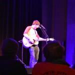 Brett Newski performing his original songs at the Encore, photo by Nomin Erdenebileg.