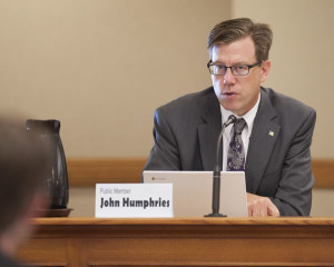 John Humphries, a candidate for the 26th Wisconsin State Superintendent of Public Instruction. Photo courtesy of humphriesforschools.org