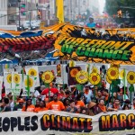 Pictures of the 2014 Climate March.