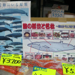 whale meat sold at japan market. Photo courtesy of planetearthherald.com.