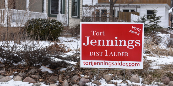Professor Tori Jennings Runs for Office