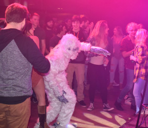 Yeti found dancing in the crowd. Photo by Nomin Erdenebileg