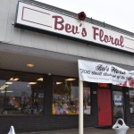 Bev's Floral shop on division street. Photo by Nomin Erdenebileg