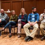 From left to right: Joel Kuehnhold, Taylor Christiansen, Kim Bremmer, Dr. Jacob Prater, and Dr. Krishna Roka. Photo by Ross Vetterkind