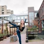 UWSP Dancer, Sydney Rose Enzler. Photo provided by Sydney Rose Enzler