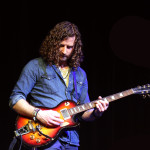Lead guitarist Zach Grusznski plays during a song. Photo courtesy of Dalen Dahl.