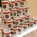 The coffee and culture mugs given out during the events. Photo provided by SIEO