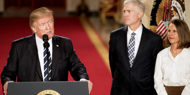 Neil Gorsuch Approved as Supreme Court Justice