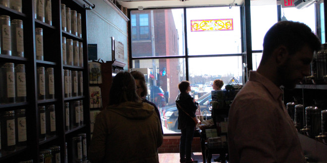 Clothing, Comics and Tea on Clark Street