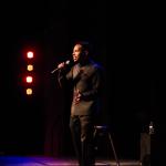Joshua Hanyard on stage. Photo by Munim Shah