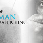 Stop Human Trafficking billboard. Photo by wikimedia commons