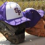 A couple of Pointer's hats and gloves. Photo courtesy of UWSP Athletics.