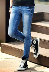"A woman wearing ""tight"" jeans. Photo provided by pexels"