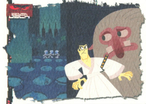 Samurai Jack Artbox Cards. Photo provided by Flickr