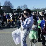 The Trivia parade in Lot Q. Photo by Ashley Panka