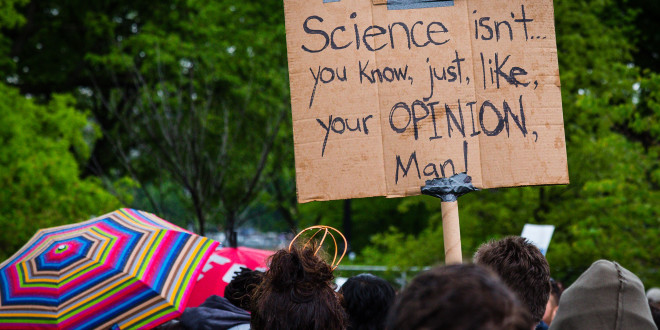 Appleton Residents Join National March for Science