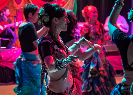 Centertainment Helps Students Belly Dance the Night Away
