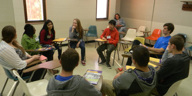 College and High School Students Learn Through Connections Project