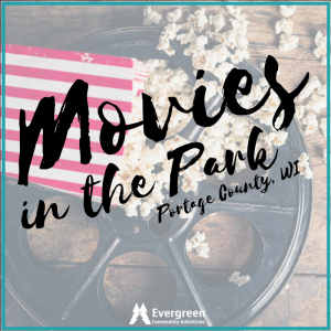 Movies in the park facebook photo. Photo by Evergreen Community Initiative