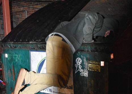 Come On In: The Dumpster Is Fine