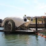 Mr. Trash Wheel in Baltimore, Maryland. Photo from http://baltimorewaterfront.com.