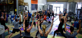 Yogis Find their Center for Beer