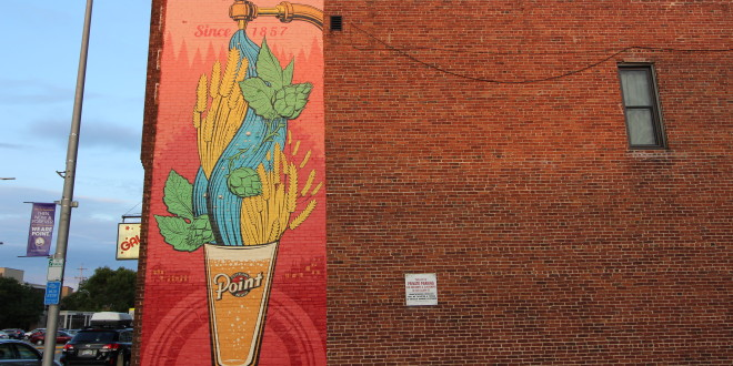 A New Mural in Stevens Point