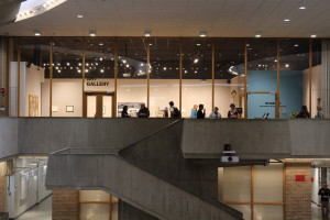 A view of the Edna Carlsten Gallery. Photo courtesy of Dalen Dahl.