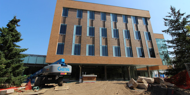 The New Science Building Bounces Back