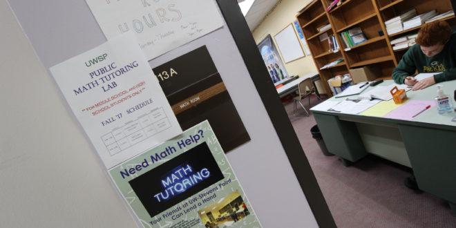 UWSP Math Department Provides Tutoring for Community