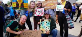 Students Protest Enbridge's Line 3 Replacement