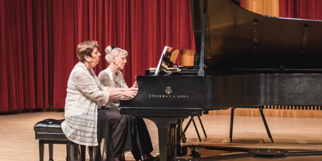 The Transcontinental Piano Duo Comes to UWSP